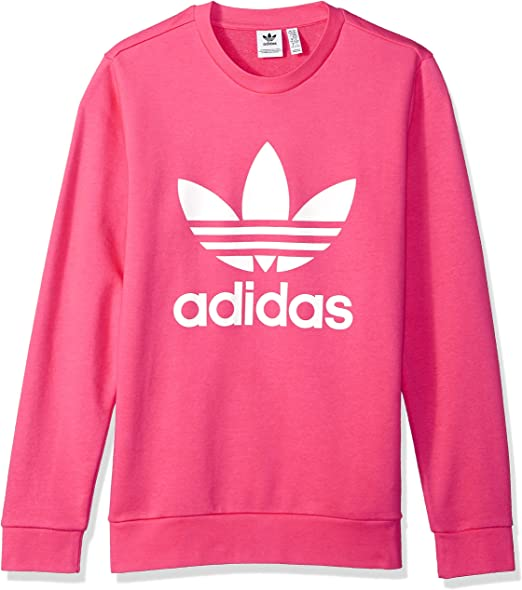 : adidas Originals Girls' Big Originals Trefoil