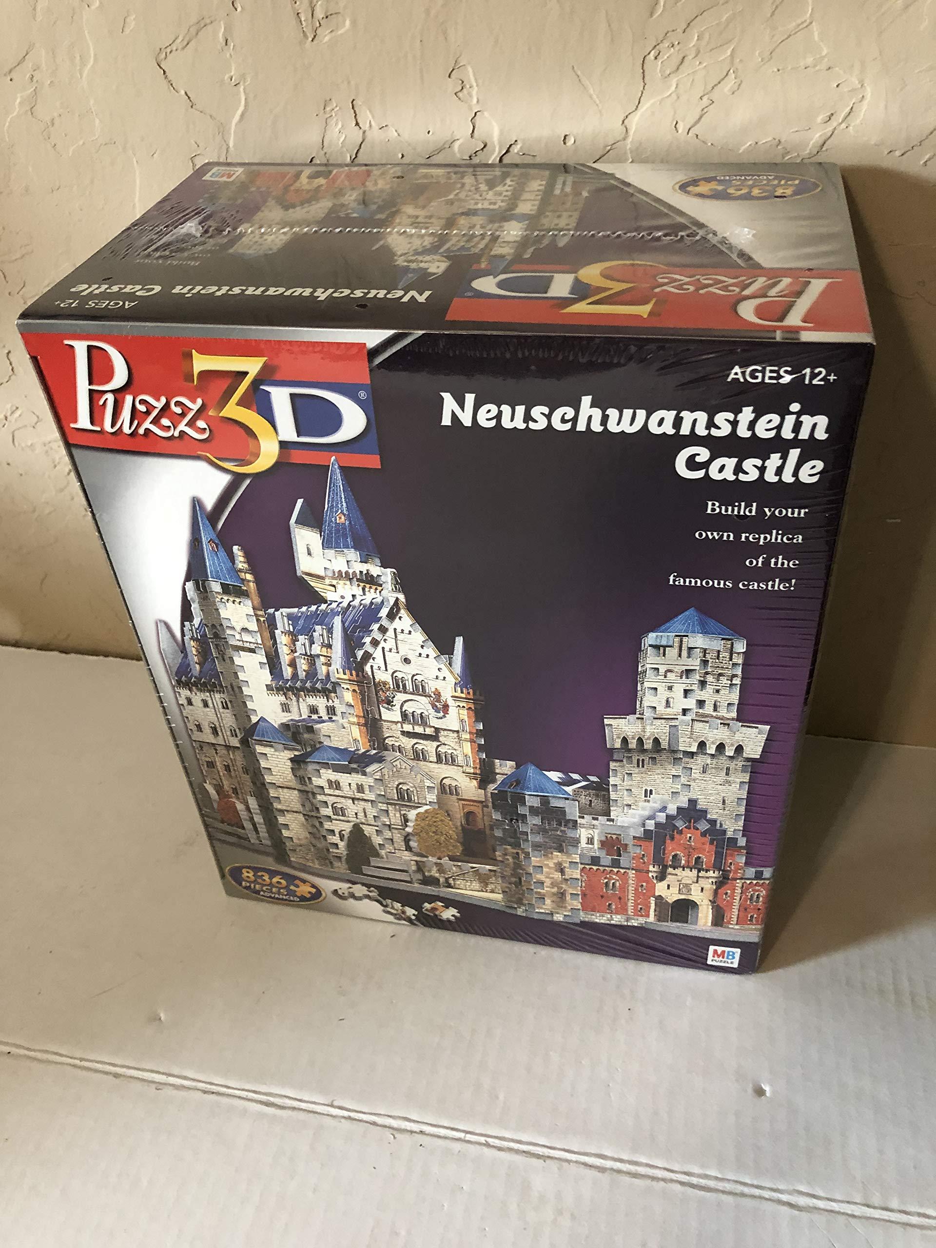 Puzz 3D Neuschwanstein Castle Puzzle