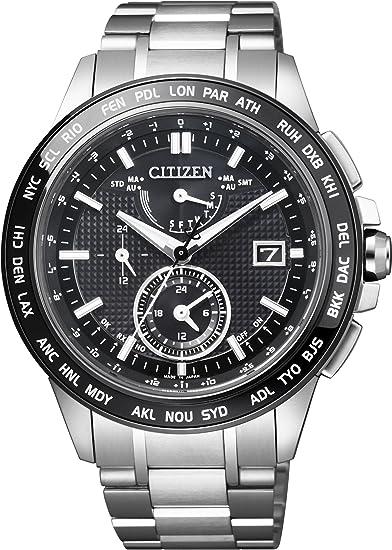 [シチズン] 腕時計 アテッサ エコ・ドライブ電波時計 日中米欧電波受信 限定モデル AT9044-51E シルバー