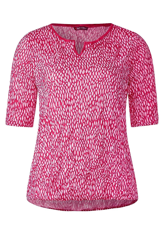 48354a29f41691 Street One Damen Crash Shirt mit Print Hot Sale 2019 - lkpp.gov.my