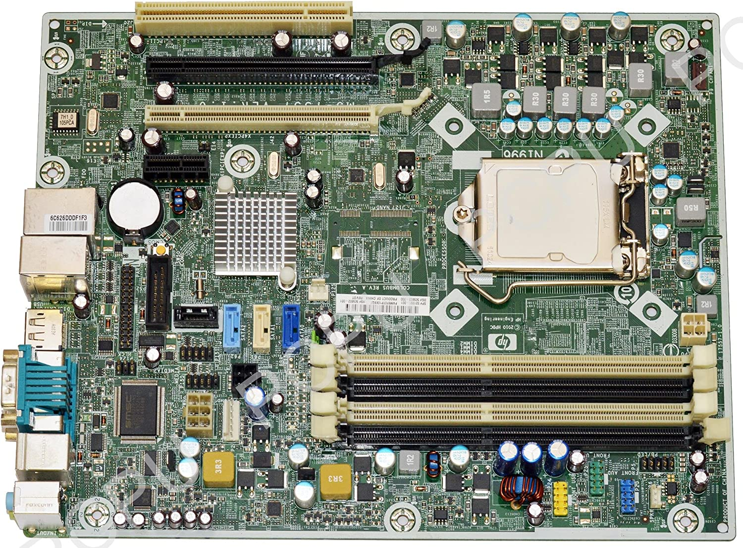 531991-001 HP Compaq 8100 Elite SFF Intel Desktop Motherboard s775
