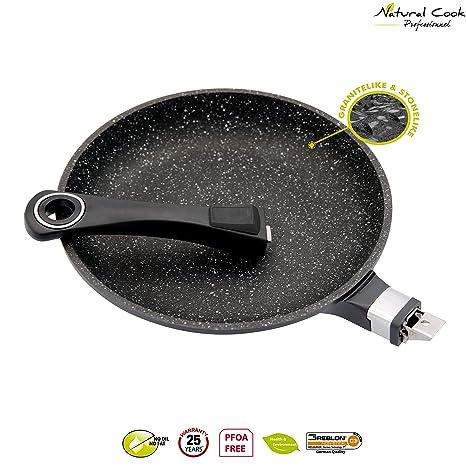 Natural Cook Professionnel Fry Pan In Nonstick Stonelike Granitelike Ceramic Coating Frying Pan Cookware