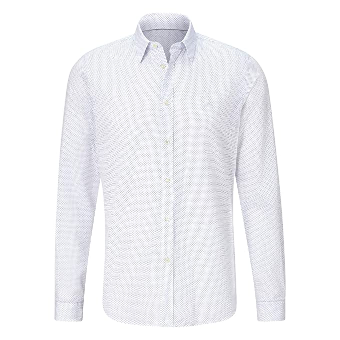 Lacoste - Camisa Punto Manga Larga Hombre - Ch0564: Amazon.es ...