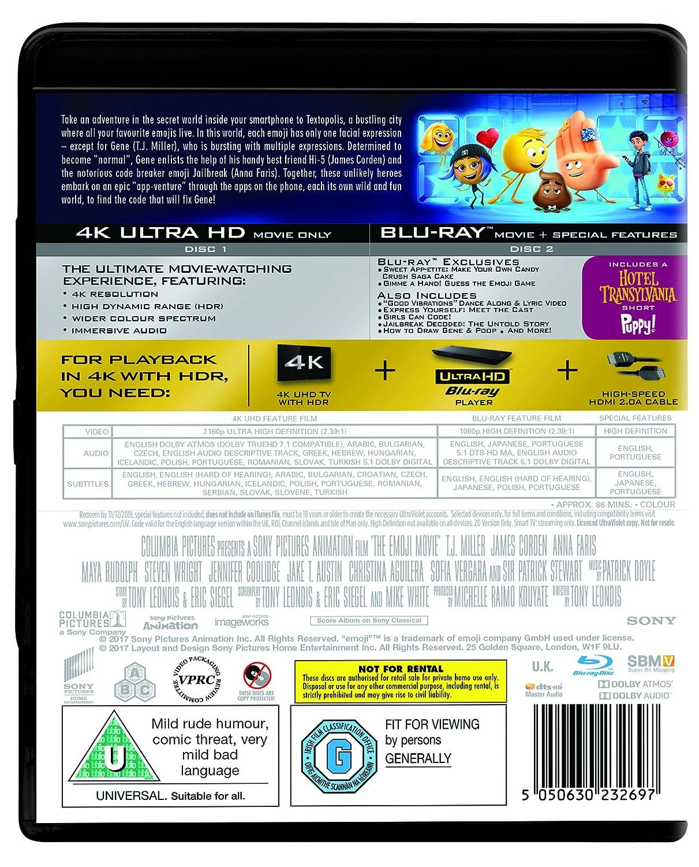 The Emoji Movie 4k Uhd Blu Ray 2017 Region Free Amazoncouk