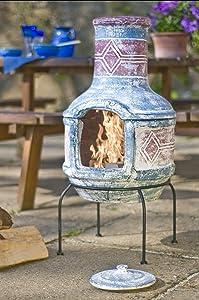 Mexiko Ofen von Buschbeck mit Grillfunktion aus Ton