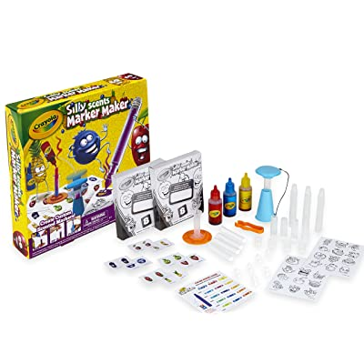 Crayola Silly Scents Marker Maker, Scented Markers, Gift: Toys & Games