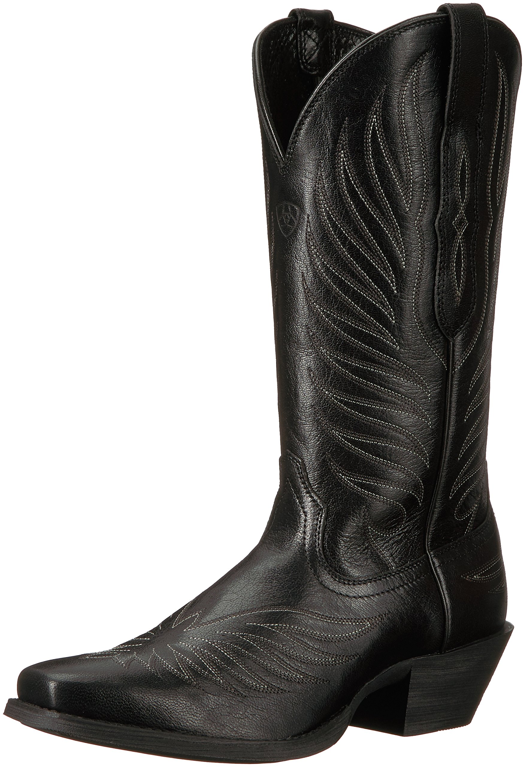 Ariat Women's Round up Phoenix Work Boot, Old Black, 6.5 B US by Ariat