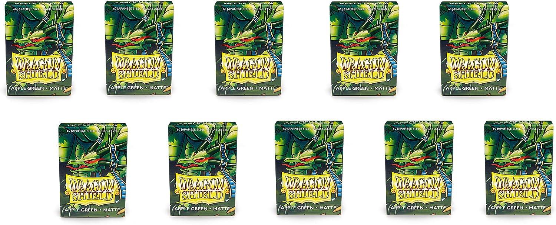 Dragon Shield 10 Packs Matte Mini Japanese 60ct Card Sleeves Display Case