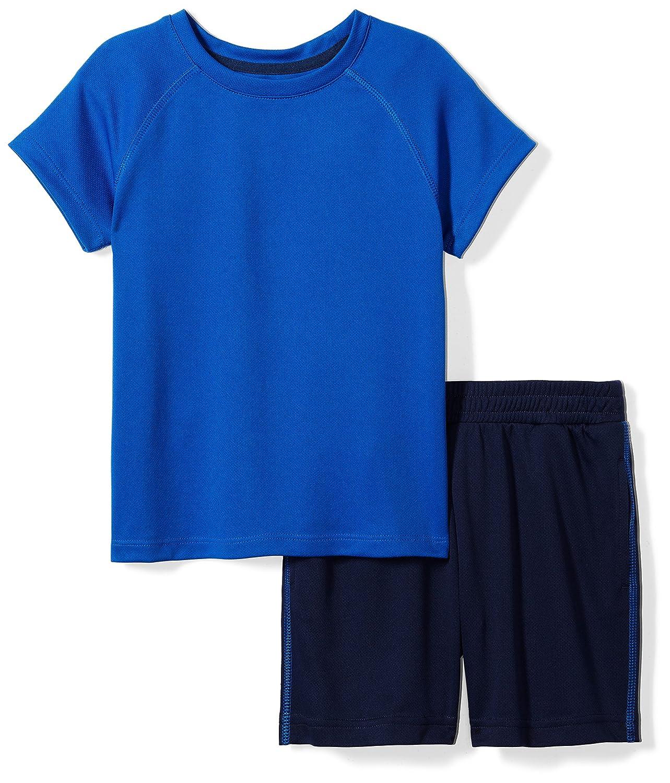Spotted Zebra Boys Active Short-Sleeve Tee Shorts Set BSZ45067SP18/BSZ60022SP18