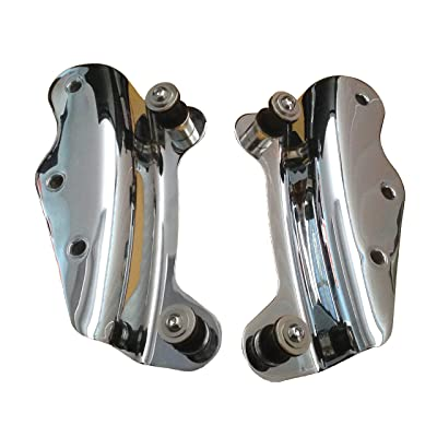 4-Point Docking Hardware Kit for 2009-2013 Harley Davidson Touring - Chrome: Automotive