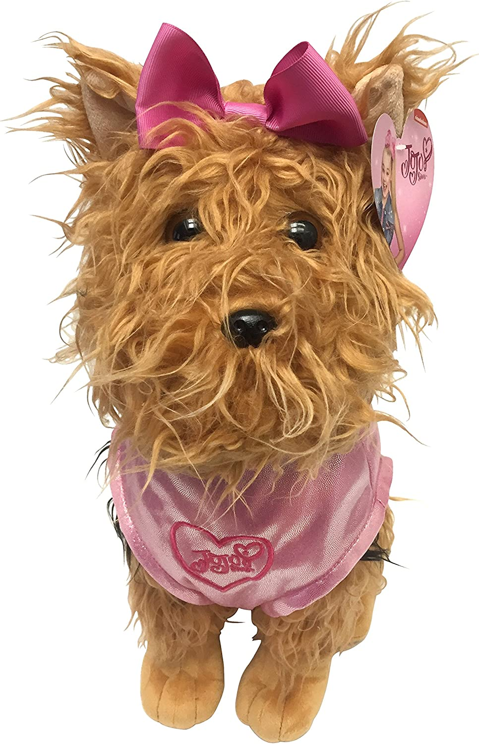 Amazon Com Nickelodeon Jojo Siwa Bowbow The Dog Plush 17 Pillow