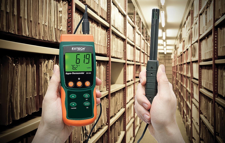 1 St/ück SDL500 Extech Hygro-Thermometer//Datenlogger