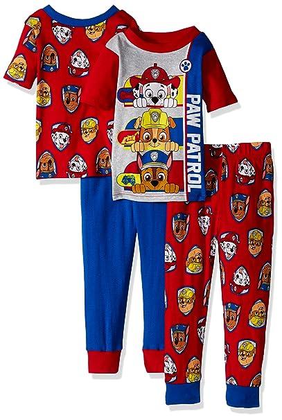 Nickelodeon Varones Juego de pijama - Rojo - 3 años