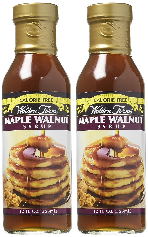 Walden Farms Walden cultiva jarabe de nueces de arce libre de calorías El jarabe de arce de nogal 2 botellas: Amazon.es: Alimentación y bebidas