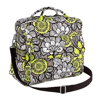 46caa54733 Amazon.com   Vera Bradley Convertible Baby Bag Citron   Baby