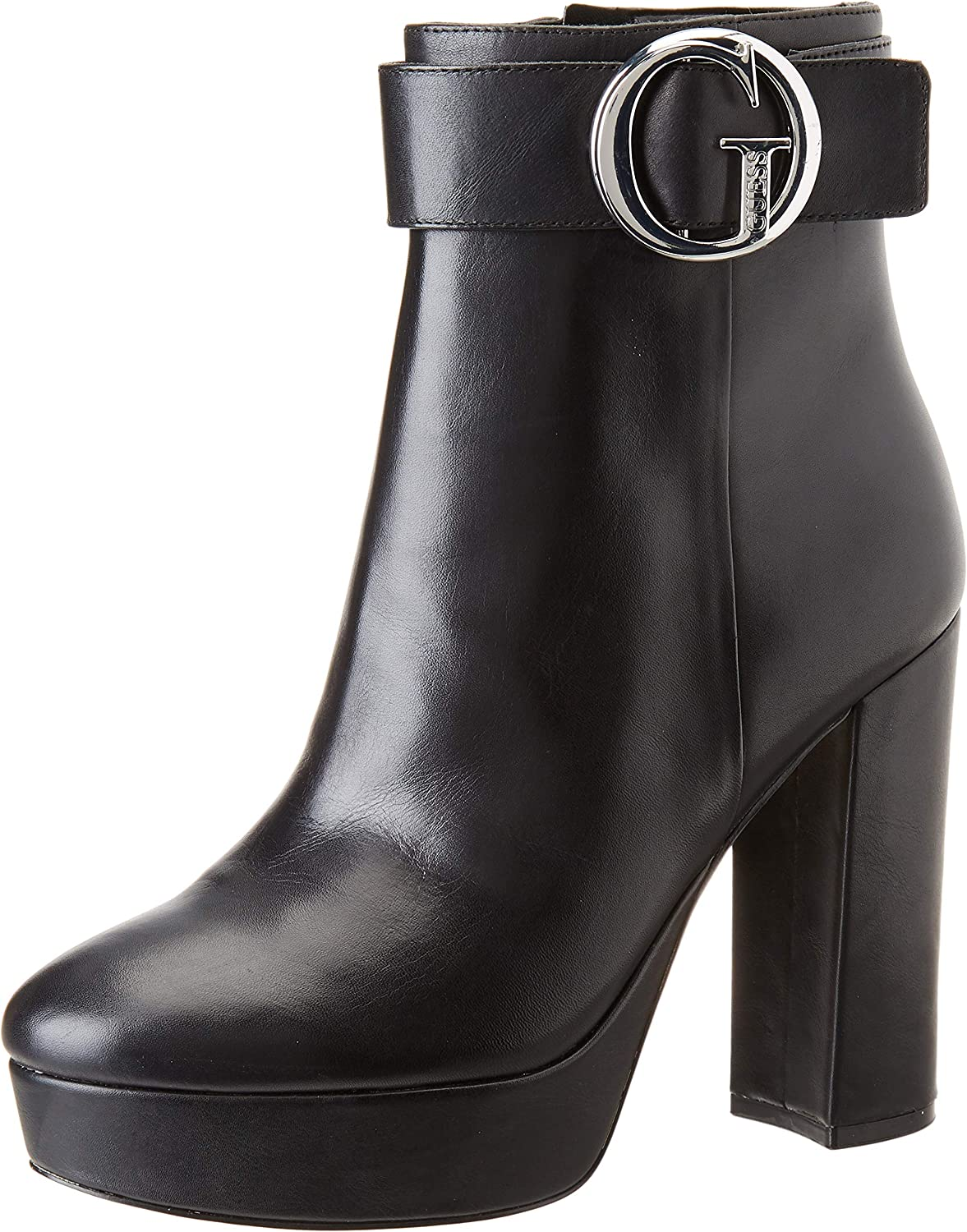 Guess Abrew/Stivaletto (Bootie)/Leat, Botines para Mujer