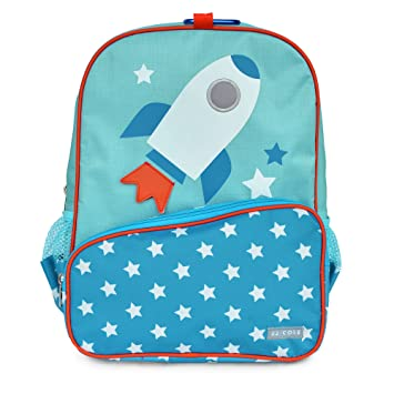 Amazon.com: Little JJ Cole Toddler Backpack, Rocket: Baby