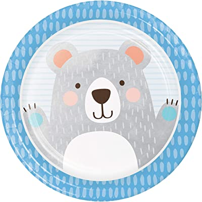 Bear Party Paper Plates, 24 ct: Toys & Games [5Bkhe1200827]