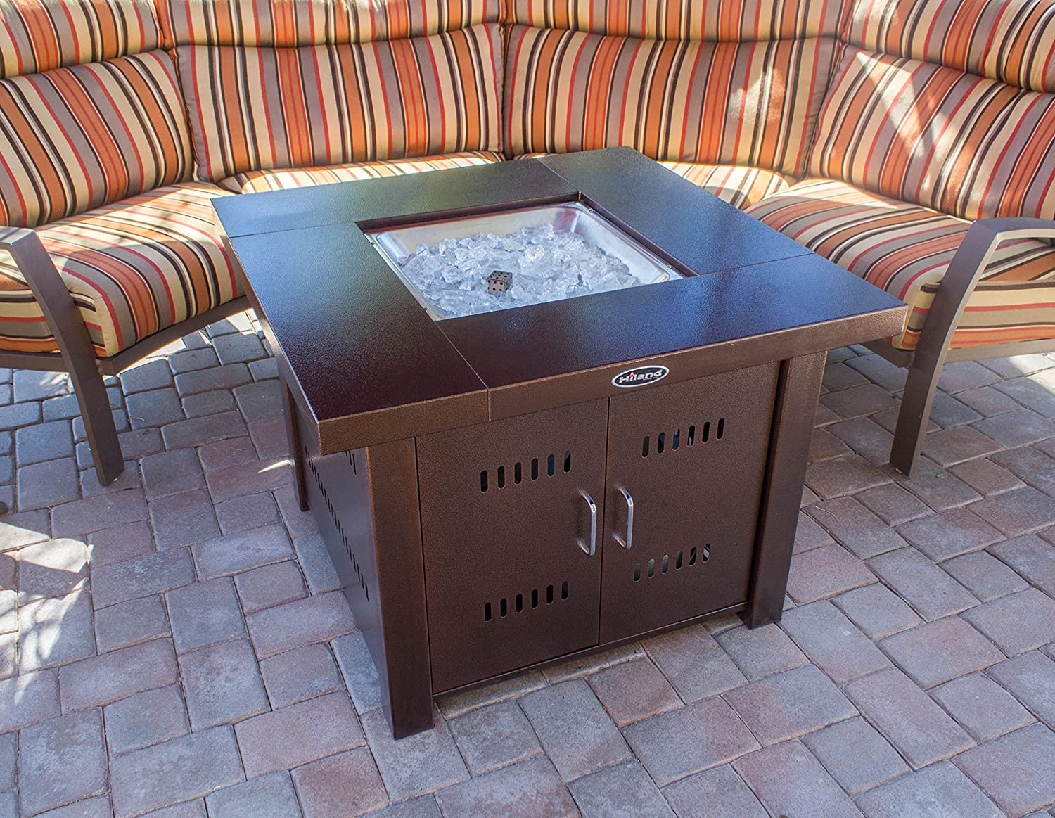 Top Ranked Outdoor Gas Fire Pits For 2019 Outdoor Fire Pits