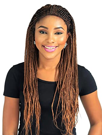 Amazon Com Cornrow Fulani Braid Wig Color 30 22 Inches Beauty