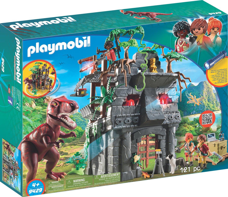 Playmobil 9429 - Campo Base e T-Rex