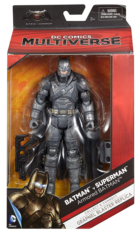 Batman v Superman Dawn of Justice Multiverse 6 Batman Armor Figure