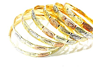f1ca770df7b26 merajjewelry Virgen De Guadalupe Bangle