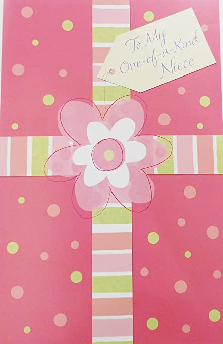 Amazon to my one of a kind niece happy birthday greeting to my one of a kind niece happy birthday greeting card m4hsunfo