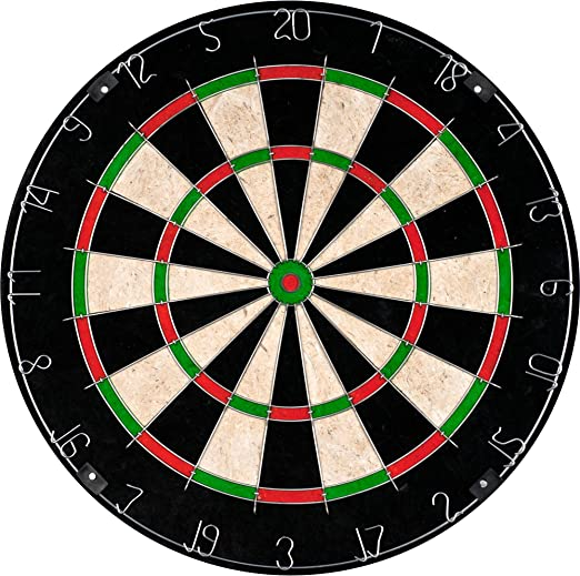 Hey! Play! Bristle Dartboard - Quality Build