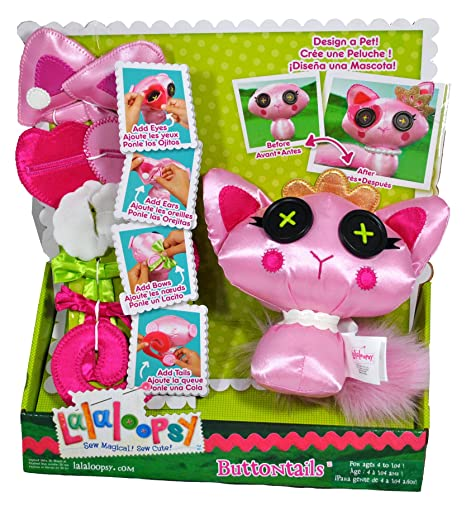 Lalaloopsy Button Tails Cat