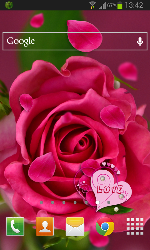 Amazon Com Rose Love Live Wallpaper Appstore For Android