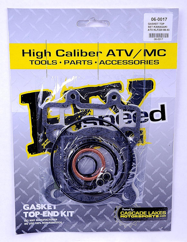 Top End Gasket Kit for Kawasaki KLF 220 A Bayou 1988-2002