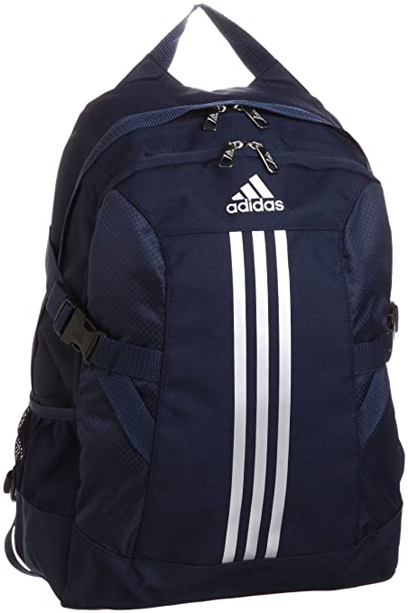 1109ad2329a6 Buy Adidas Bp Power Ii Basic Polyester Backpack (Navy Blue) Online at Low  Prices in India - Amazon.in