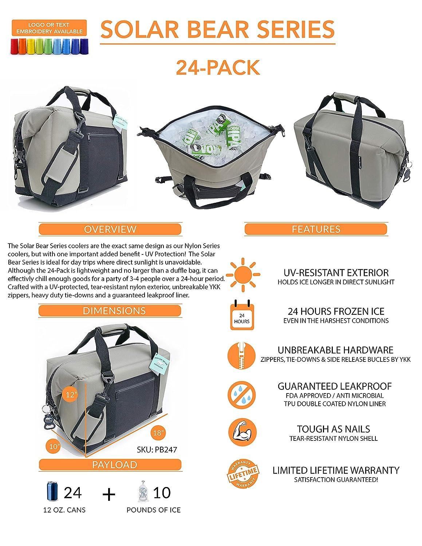 Polar Bear Coolers Solar Bear Series Soft Cooler