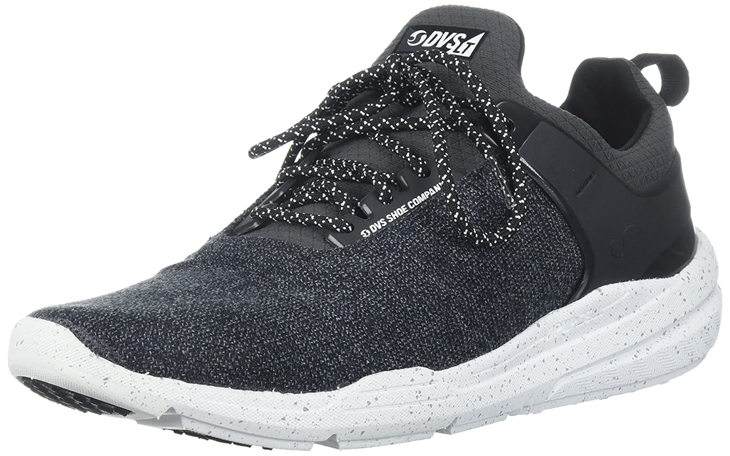 DVS Men's Cinch LT+ Skate schuhe, Dark Shadow Static Knit, 9 Medium US