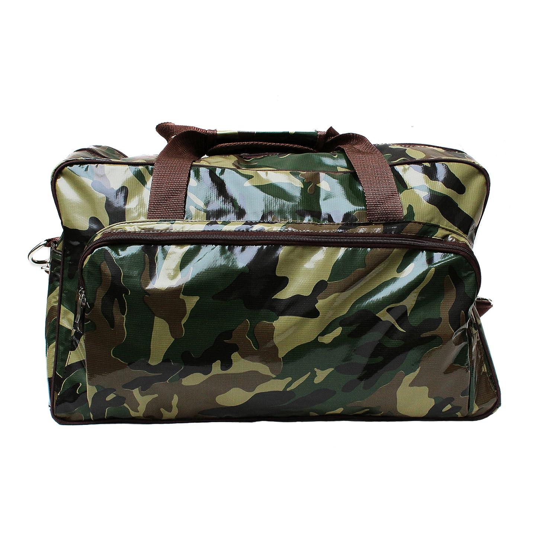 Bolsa de Deporte Weekender Fitness Natacion Sauna Viaje, de hule, bolsa de mujer y hombre, impermeable, modelo Camuflaje Militar
