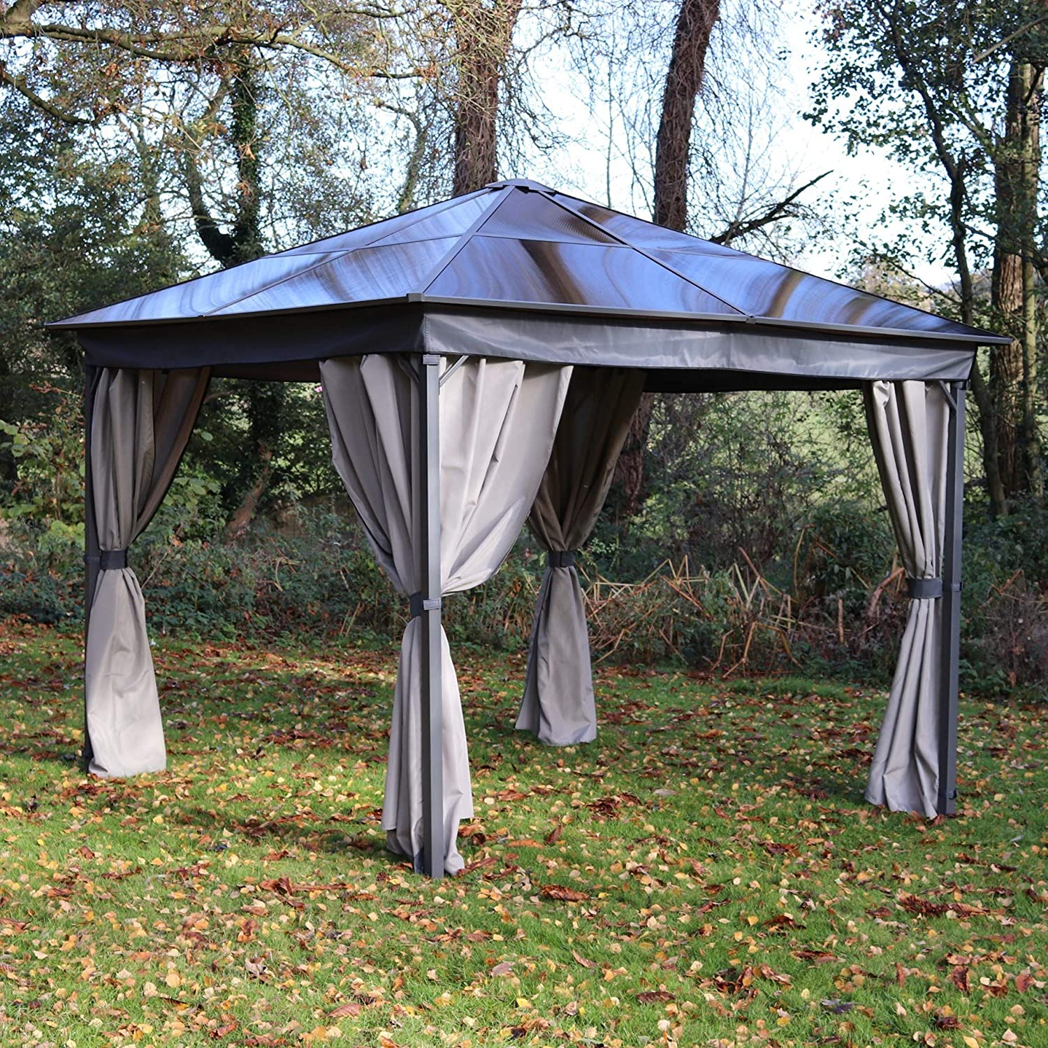 MASTERS OUTDOOR LEISURE LTD Gazebo - Techo de policarbonato (3 x 3 ...