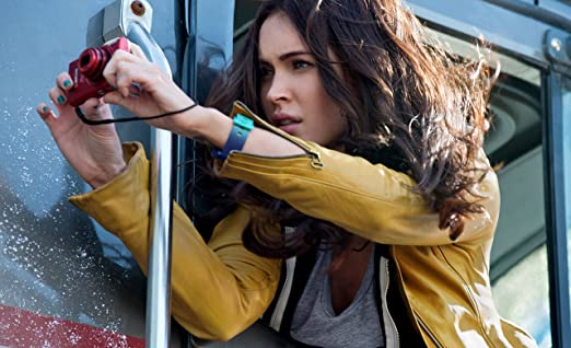 Amazon Com Teenage Mutant Ninja Turtles 2014 12 X 18 Movie Poster Thick Megan Fox As April O Neil Posters Prints