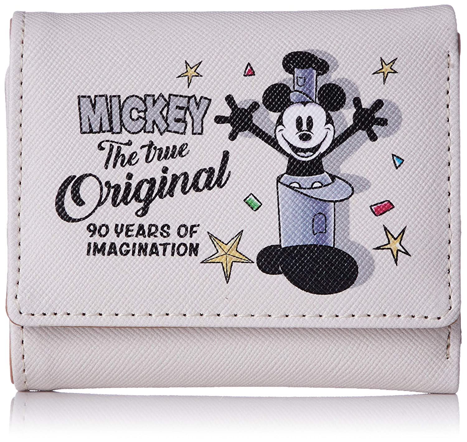 Purse: Womens Mickey Mouse tri-fold wallet /s 90th ...