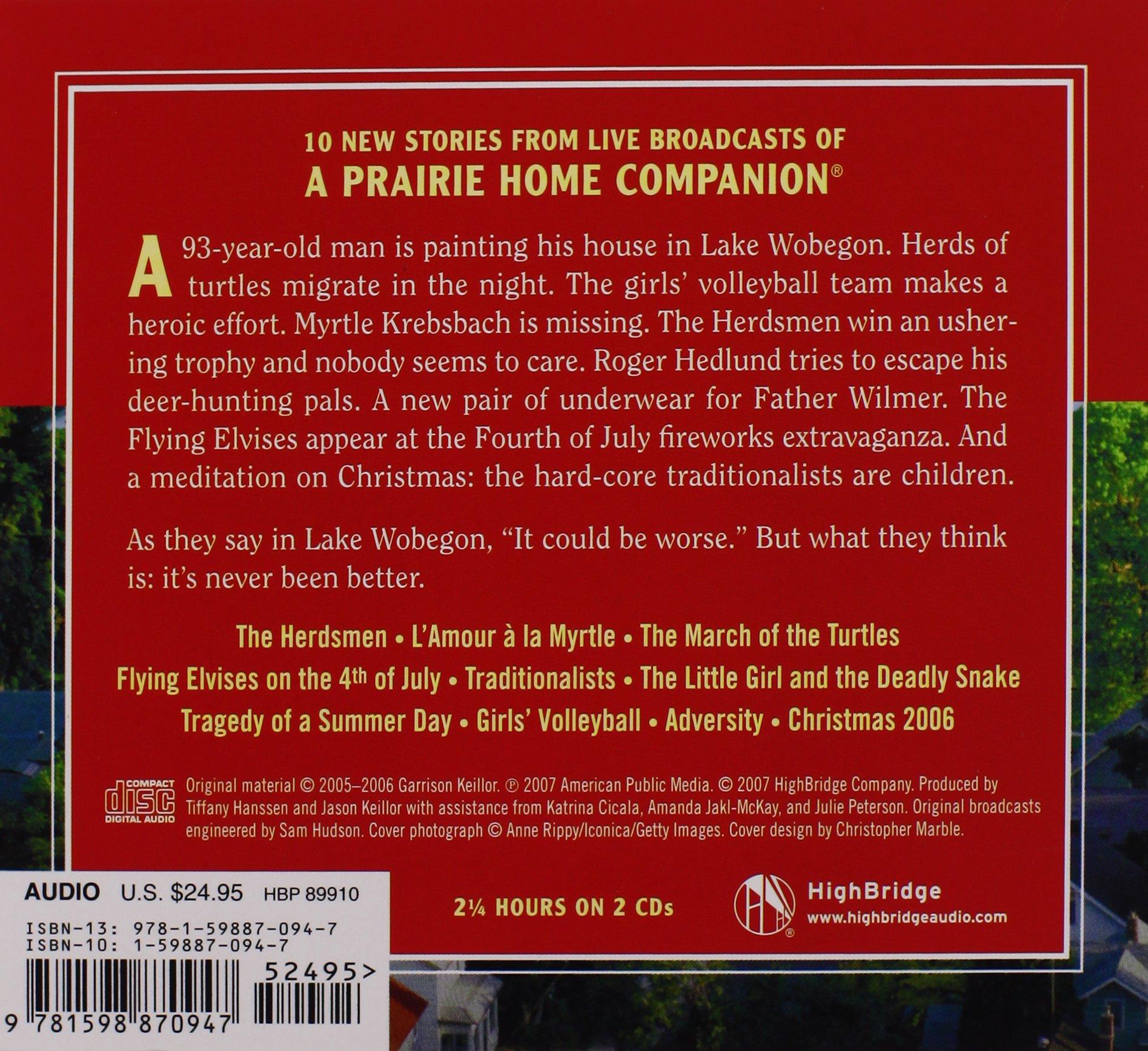 Never Better: Stories from Lake Wobegon: Garrison Keillor: 9781598870947:  Amazon.com: Books