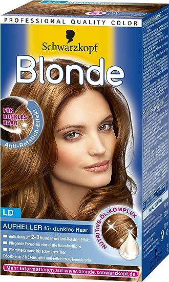 blonde ld aufheller fà r dunkles haar 3er pack 3 x 1 stà ck