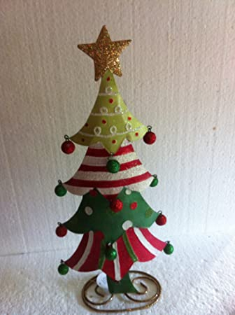 Tannenbaum Aus Blech.Weihnachtsbaum Tannenbaum Blech Handbem Von Gall Zick 30 Cm
