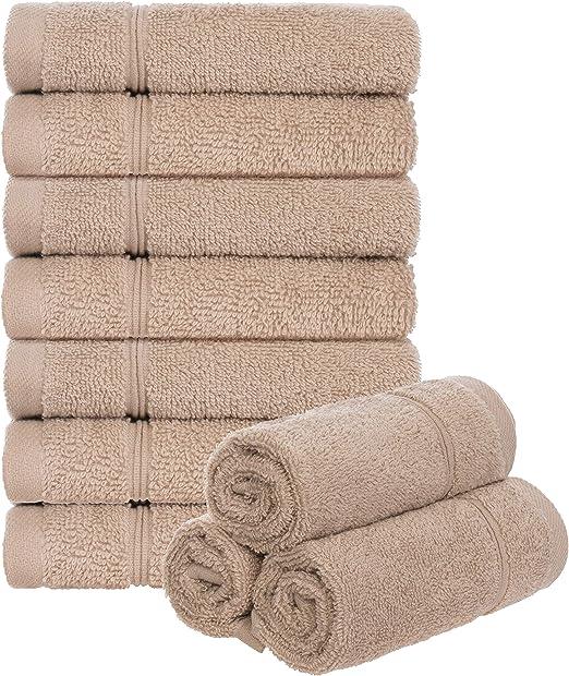Brandsseller – Juego de 10 toallas de mano para invitados 30 x 30 ...
