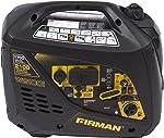 Firman W01781 2100/1700 Watt Recoil Start Gas Portable Generator cETL and