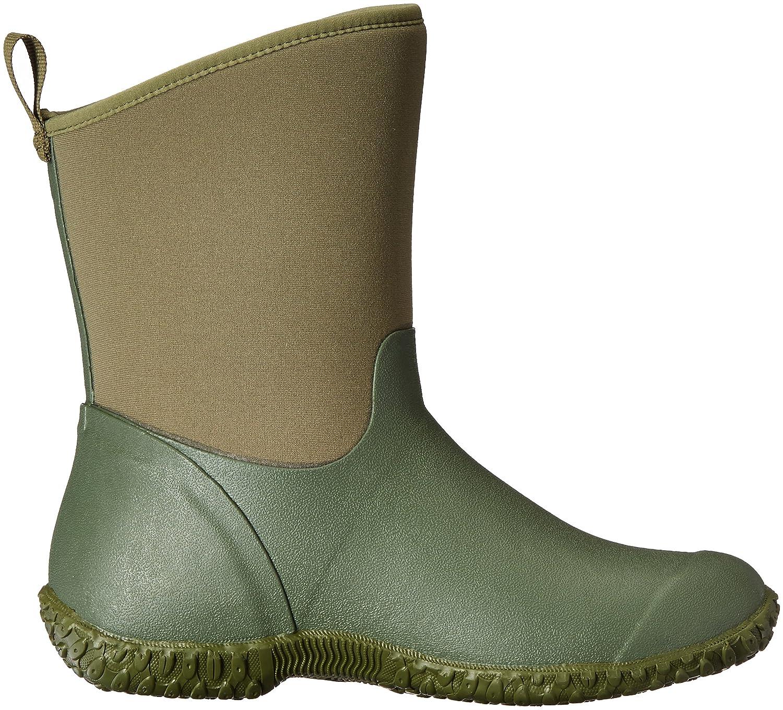 Muck Boot Women's Muckster 2 Mid Snow B01N6R6WNI 11 B(M) US|Green W/ Floral Print Lining