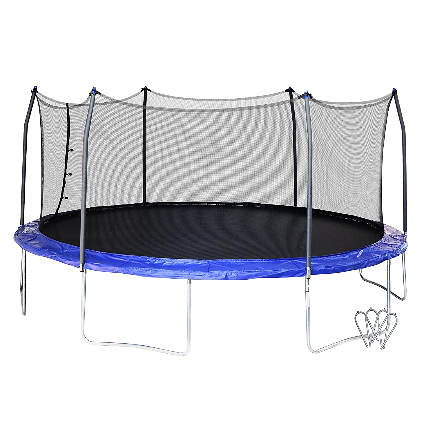 amazon com skywalker swtc17bws oval trampoline and enclosure