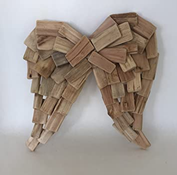 Wooden Angel Wings Wall Decor, Rustic Decor Part 67