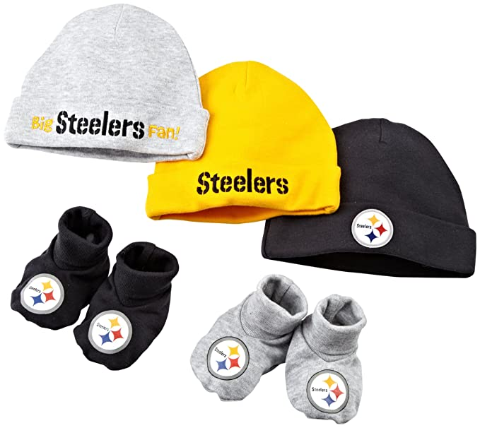 Amazon.com   NFL Infant Toddler Boys  Pittsburgh Steelers 5 Piece ... 8a7a04ba7