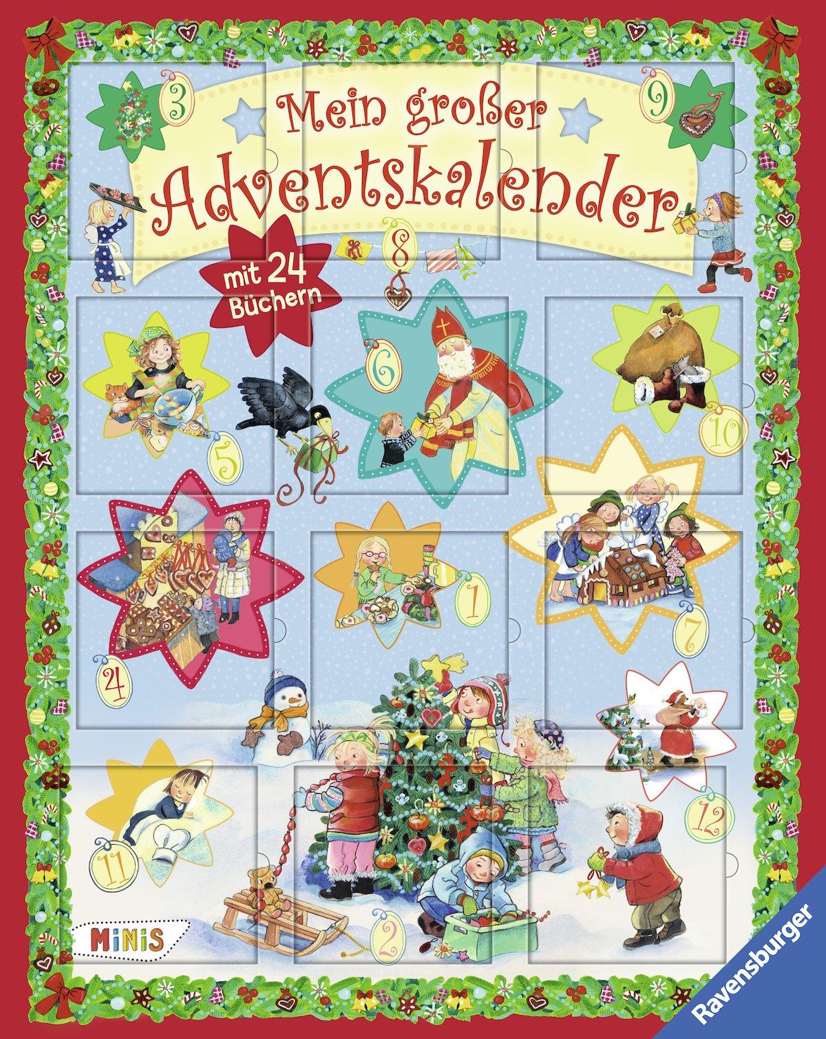 Mein Grosser Adventskalender Ravensburger Minis Amazon De Bucher