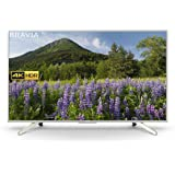 Sony 55 Inch 4K HDR Ultra HD Smart TV with Freeview Play, Silver (2018 Model)